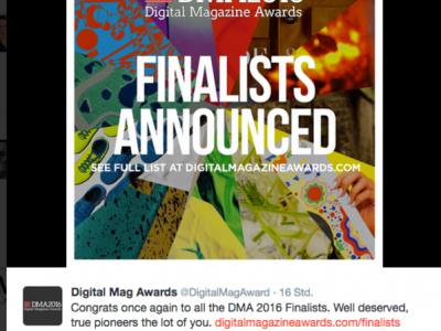 Digital Magazine Awards 2016