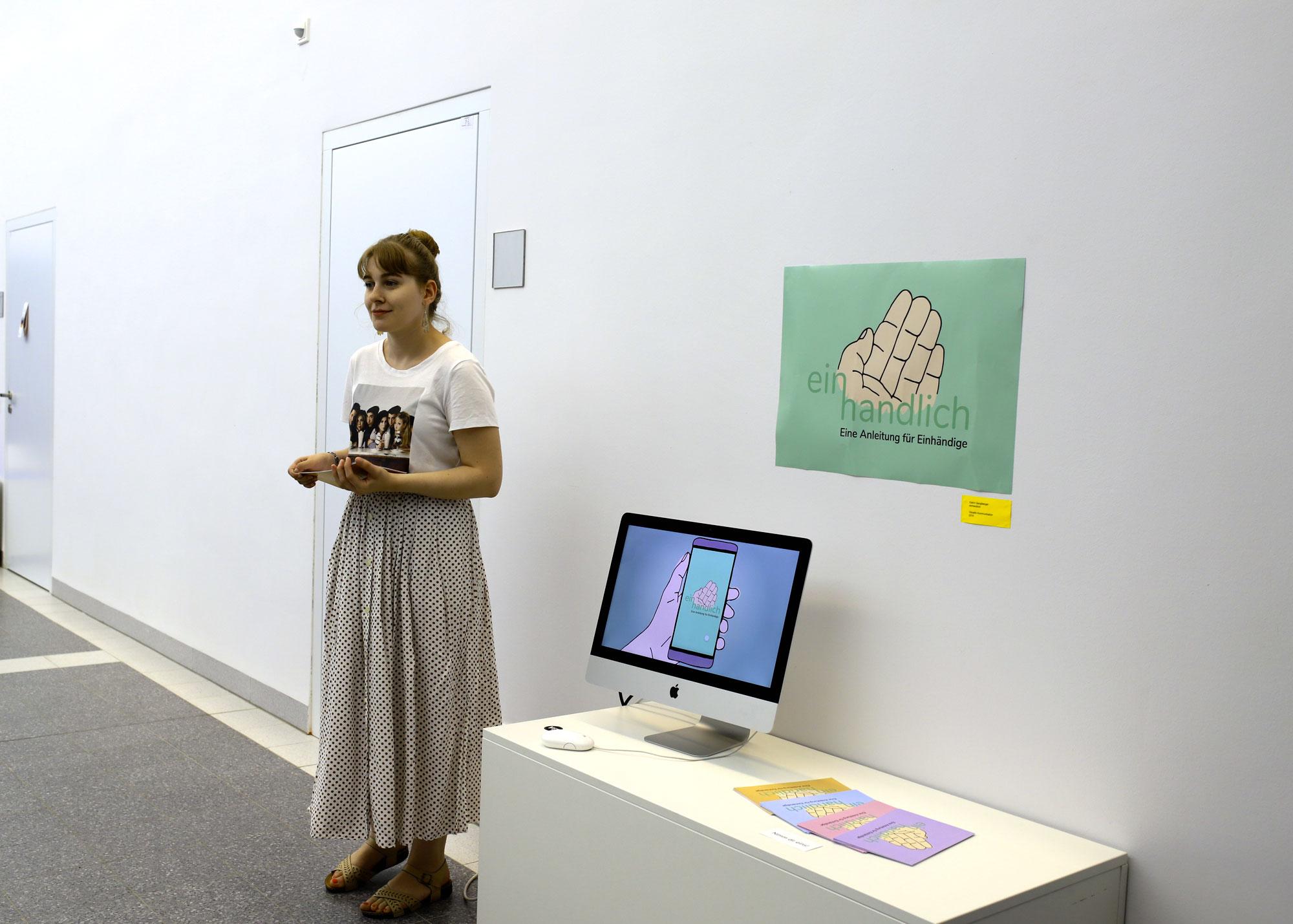 Ganglberger Kathrin, einhandlich, 2019; Foto: Bettina Mörz